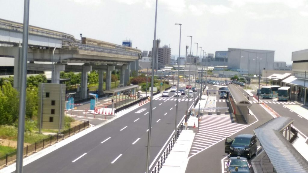 ITAMI 大阪国際空港( 伊丹空港)水色ゲート