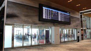 ターミナルの出入り口